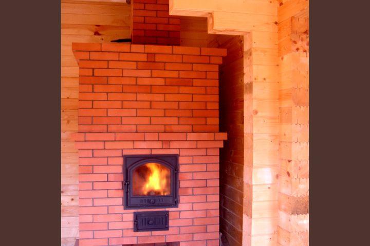 Печь с высокой теплоотдачей